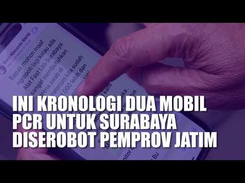 Ini kronologi Dua Mobil PCR untuk Surabaya Diserobot Pemprov Jatim