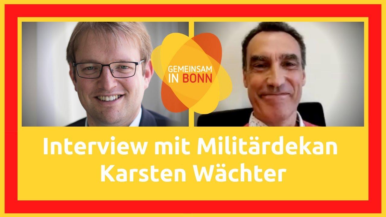 Interview mit Militärdekan Karsten Wächter