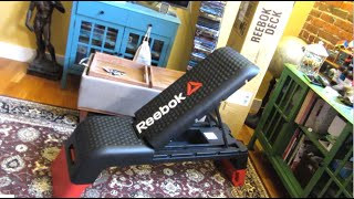 Reebok Aerobic Deck | Close Up Views | Stepper and Fitness Bench Review