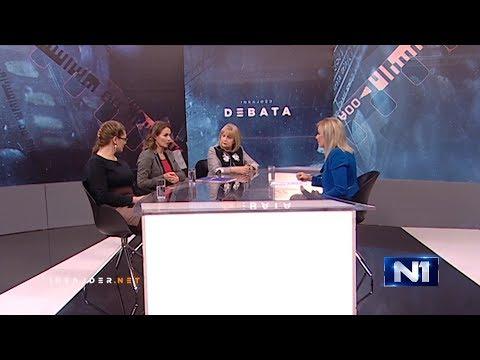 Insajder debata: Gošće Brankica Janković, Slavica Đukić Dejanović i Milena Vasić