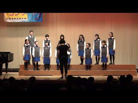 まちコン 4. 大麻西小学校合唱団 まちかどコンサート 2017.6