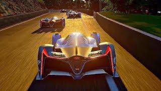 Gran Turismo Sport - Gameplay Hyundai 2025 Vision GT @ Mount Panorama [1080p 60fps]