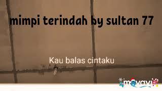 IYETH BUSTAMI Mimpi Terindah SLOW VERSION (karaoke) By Sultan77