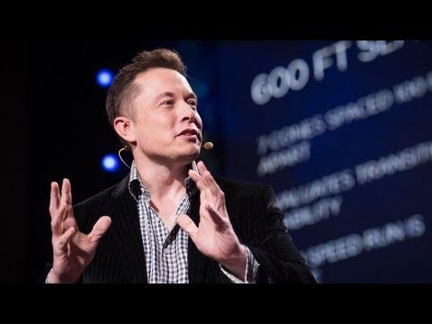 Ted talk: Elon Musk, het brein achter Tesla, SpaceX, Solarcity..