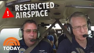 See What Happens When A Plane Violates Presidential Airspace | TODAY