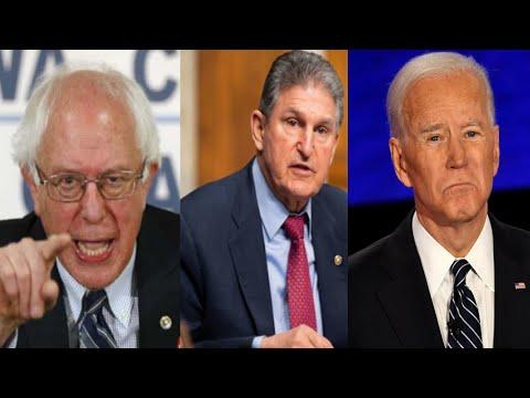"Bernie Sanders PUTS HIS FOOT DOWN! Says To Joe Biden & Manchin: ""No Reconciliation Bill, No Deal"""