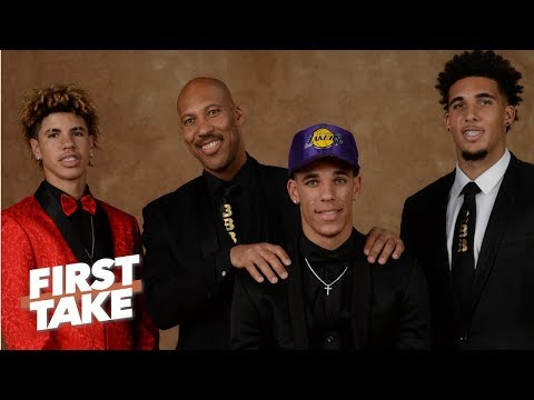 LaVar Ball Says Middle Son LiAngelo Ball Won't Make NBA  | First Take | ESPN