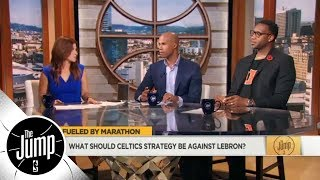 Richard Jefferson and Tracy McGrady give Celtics advice for facing LeBron James | The Jump | ESPN