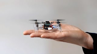 "(Video) ""Swarm of 6 Tiny Drones Autonomously Exploring an Unknown Office Environment"""