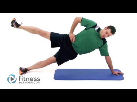 Pilates Side Plank with Leg Raise (Lv 3)