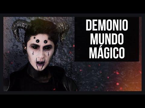 ➮ Maquillaje y Disfraz de Demonio | Halloween | No Person ft. En Corto FX Con Jim