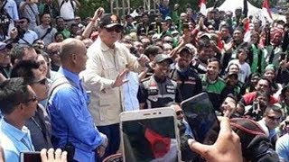 Video Prabowo Berjoget Lagi dan Tuding Seorang Wartawati Sedang Menunggunya 'Salah Bicara'