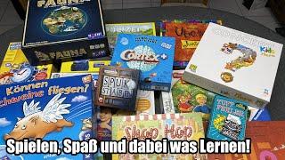 Lernspiele welche auch Spaß machen! Für Kindergarten und Grundschule