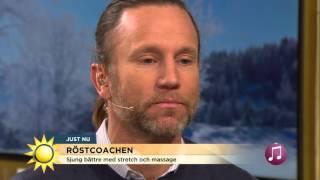 Röstcoachen Lär Tilde Och Peter Sjunga! - Nyhetsmorgon (TV4)