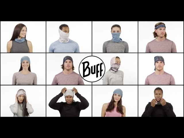 Видео Бандана BUFF HIGH UV marine