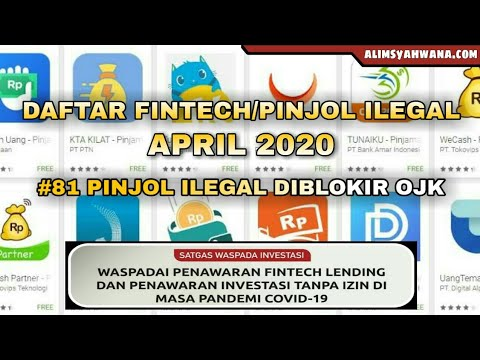 Daftar Fintech Ilegal Ada 81 Diblokir Ojk Kaskus