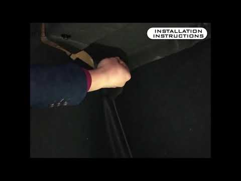 Tesla Model 3 Sound Deadening Mat Installation