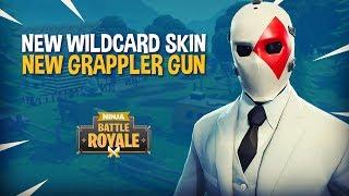 *NEW* Wildcard Skin and Grappler Gun!! Fortnite Battle Royale Gameplay - Ninja & TimTheTatman