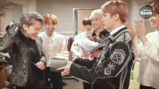 [BANGTAN BOMB] Jimin's Birthday at M countdown - BTS (방탄소년단)