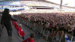 The Big 4 - Anthrax - I Am The Law Live Sweden July 3 2011 HD