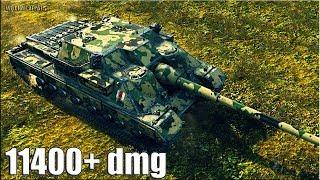 ИМБАНУТАЯ ПТ-САУ FV217 Badger 🌟 11400+ dmg 10 фрагов 🌟 World of Tanks лучший бой на пт сау барсук