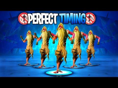 fortnite perfect timing compilation 1 season 9 dances emotes - fortnite perfect timing emotes