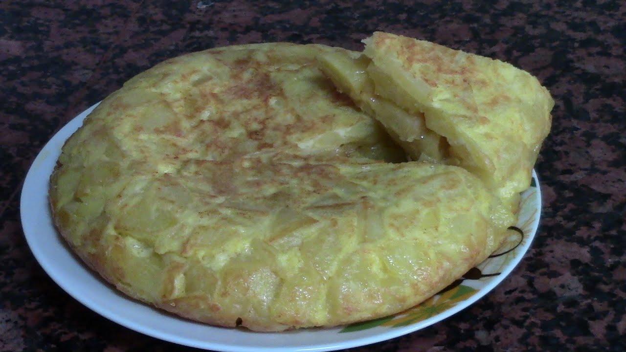 TORTILLA DE PATATAS ESPAÑOLA | recetas de cocina faciles rapidas y economicas de hacer - comidas