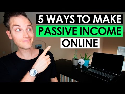 How to Make Passive Income Online — 5 Proven Ways