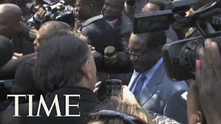 Zimbabwe Ruling Party Fires Robert Mugabe As Leader After Mugabe Did Not Resign   TIME