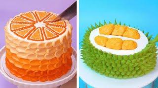 10+ Quick And Easy Cake Recipes | Easy Chocolate Cake Ideas | So Yummy Cake Decorating Ideas