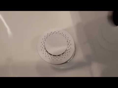 Abfluss UFO Abflusssieb reinigen in 5 Sekunden - Lifehack
