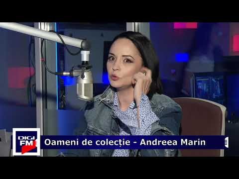 Andreea Marin despre proiecte destinate femeilor, Digi FM, Oameni de colectie - aprilie 2018
