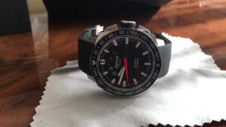 Alpina extreme sailing watch review regatta yatch timer