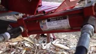 Log Splitter Lift Arm Control