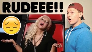 Christina Aguilera's Shadiest/Diva Moments Reaction!