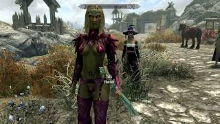 "SKYRIM MOD REVIEW!  ""SEXY ARMOR AND THE FLASH"""
