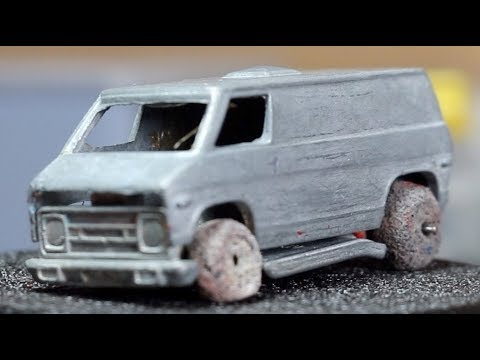Download Hot Wheels Redline Restoration : 1976 Dodge Van Khaki Kooler Military Police HD Mp4 3GP Video and MP3