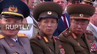 LIVE: Putin attends maritime parade on Russia