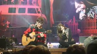 141231 Akdong Musician AKMU ft LEE HI  HAPPY 2NE1 @AKMU Camp