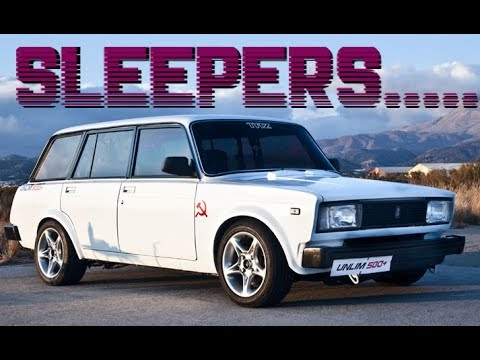 BEST OF SLEEPERS AND UNEXPECTED FAST CARS