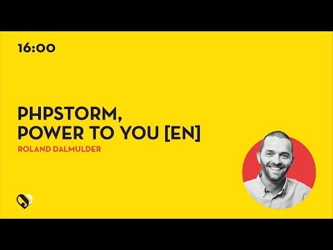 JD19DE - [EN] PhpStorm, power to you
