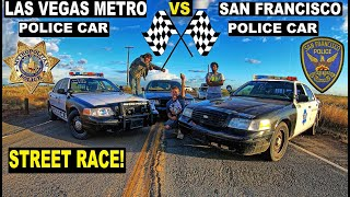 Police Car Street Race GONE WRONG!