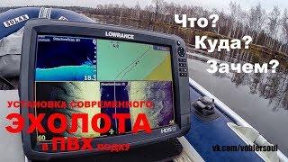 Навигаторы и эхолоты для рыбалки