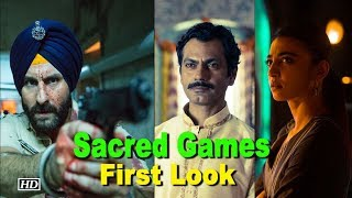 Saif Ali Khan's 'Sacred Games' First Look
