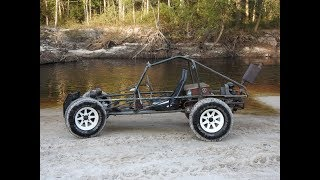 Firing Up The Dune Buggy With A River Ride