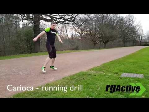 Carioca running drill