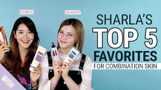 Sharla's Top 5 Favorite Cosmetics & Skincare Routine for Combination Skin | feat Sharla in Japan