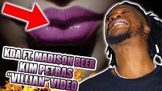 K/DA - VILLAIN ft. Madison Beer and Kim Petras (Official Concept Video - Starring Evelynn) REACTION