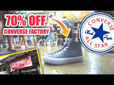 Converse Factory Outlet: All Star Chuck Taylor with 70% off in all items