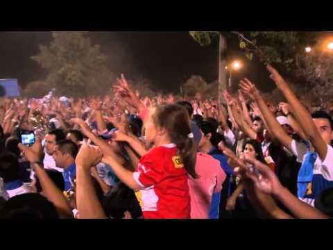 """""""28/03/2012 - Los Cruzados. Yo soy hincha del fútbol, yo no soy delincuente! [HD]"""" Barra: Los Cruzados • Club: Universidad Católica"""